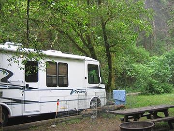 Van Damme State Campground