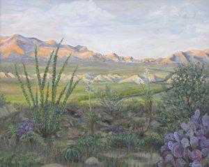 Sunglow Desert